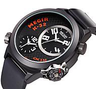 hombres megir relojes dial grande con el deporte brújula reloj de cuarzo montre homme Relogio masculino hombres reloj Relojes reloj