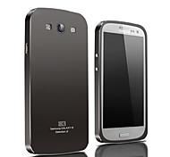 xibicen colore puro contratto tutto il metallo non si asporterà applica al Samsung Galaxy S3