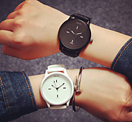 Casal Relógio de Moda Quartz Silicone Banda Relógio de Pulso