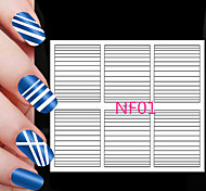 90PCS Different Sizes Professional Making Pattern Nail Art Tool #01