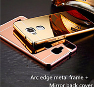 Mirror Metal Frame To Protect The Shell Of The Ultra-Thin Cover Shell for HUAWEI P8 Mobile Phone