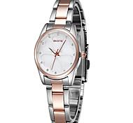 Skone 5048 Heart-shaped Pattern Quartz Watch Diamond Shell Face Lady Wristwatch Cool Watches Unique Watches