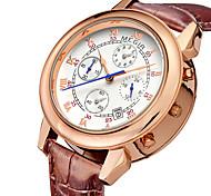 MEGIR® 2015 Men Watch of Fashion Unique Design with Duplex Dial Luxury Brands Quartz Watches