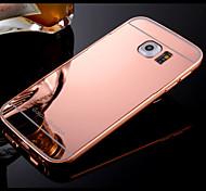 Для Кейс для  Samsung Galaxy Чехлы панели Покрытие Зеркальная поверхность Задняя крышка Кейс для Один цвет Твердый PC для SamsungS8 S8