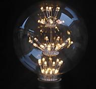 Lampadine globo LED 47PCS Capsula LED Belf G125 E26/E27 2 W Decorativo 160Lm LM Bianco caldo 1 pezzo AC 220-240 V