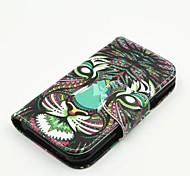neueste Flip-Cover farbige Zeichnung Einbauschlitzunterstützung weisepu Handy Shell für Samsung-J1 / J2