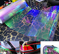 Car Auto Front Fog Tail Light Headlight Film Sheet Cover 60 x 30cm