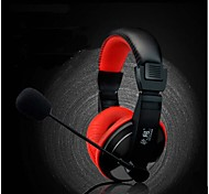 Over-ear Game Gaming Headphone Headset Earphone Headband with Mic Stereo Bass  for PC Game