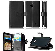 искусственная кожа + ТПУ задняя крышка бумажника много держателей карт + денежный слот + фоторамка магнитного дело телефона для Nokia