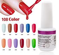 1PCS 9ml UV Color Gel Phototherapy Glue Nail Polish37#-42#  67#-72#