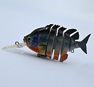 Hot 4 Inch 14.3 G Hard Type Floating Live Like Pan Fish Swim Bait for Top Water Fishing