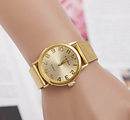 Women's Watch Men Alloy Diamond Gold Casual Wrist Watch Fashion Watch Cool Watches Unique Watches