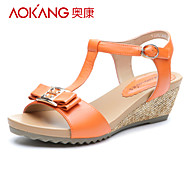 Aokang® Women's Leather Sandals - 132823660