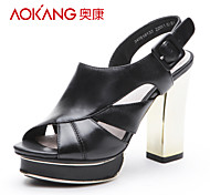 Aokang® Women's Leather Sandals - 342818133