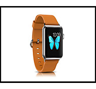 Luxury Genuine Leather watch Band strap Bracelet Replacement Wrist Band With Adapter Clasp for Apple Watch 38mm/42mm