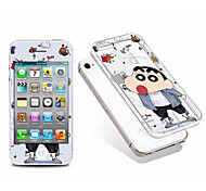 Cartoon Screen Protector Toughened Membrane and TPU After the Soft Shell Shell Combination for iPhone 4/4S
