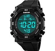 skmei® mannen buitensporten multifunctionele led horloge 50m waterdichte verschillende kleuren