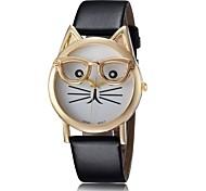 Korean fashion cute cat head watch Cool Watches Unique Watches