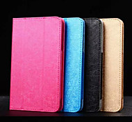 7 Inch Triple Folding Pattern High Quality PU Leather for Huawei T1-701u(Assorted Colors)