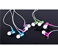 Convert Stereo Bass Headset Smart Metal Headset Luminous Line Universal Earphone