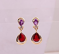 Fashion new style women crystal drop earrings