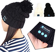 Bluetooth 3.0 Music Soft Beanie Hat with Stereo Headphone Headset Speaker Wireless