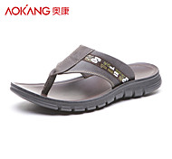 Aokang® Men's Leather Sandals - 121723035