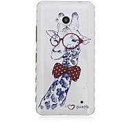 Giraffe Pattern Material TPU Phone Case for Nokia N640