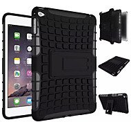 TPU+ PC Hybrid Rugged Rubber Armor stand Hard Cover Cases For iPad Mini 4