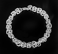 Fashion Noble 925 Silver Party Chain & Link Bracelets For Woman&Lady Christmas Gifts