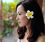 Frangipani Flower Bobby Pin Seaside Holiday Decoration