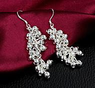 2015 Fashion Noble Sterling Silver  Earring Drop EarringsFor Woman&Lady