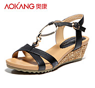Aokang® Women's Leather Sandals - 132823654