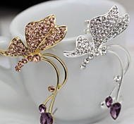 Women's Fashion In Europe And The Personality Butterfly Ear Clip