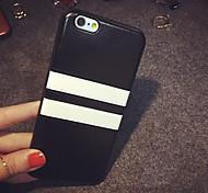 franja para trás simples caso para iphone 6 Plus / 6s mais