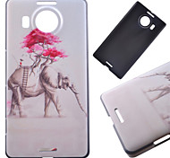 Pink Elephant Pattern PC Hard Cover Case for NOKIA 950 XL