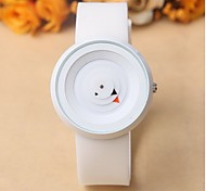 Simple creative personality turntable leisure sports silicone band quartz watch