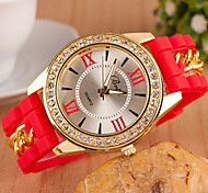 Woman Digital Diamond Quartz Wrist Watch