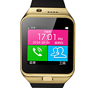 Bluetooth Smart Watch GV09 OLED Digital Wrist Watch with Camera Sedentary Remind Function for Samsung Andriod phone