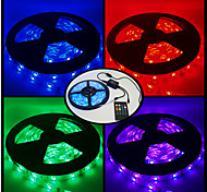ZDM™  DC12V SMD RGB 36W IP67 tube waterproof 5 meter 150*5050 LED suite music induction neon lamp