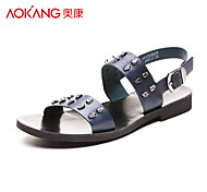 Aokang® Men's Leather Sandals - 141723029