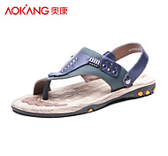 Aokang® Men's Leather Sandals - 141723034