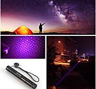 Adjustable Focus 303 Blue violet Laser Pointer Pen 5mw 405nm High Power +Holster