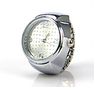Creativity Style Personality Alloy Ring Watch(Silver)(1Pc) Cool Watches Unique Watches Fashion Watch
