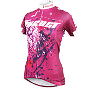 ilpaladinoSport Women Short Sleeve Cycling Jersey New Style Trust  DX605 100% Polyester