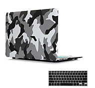 "2 in 1 Matte Surface Crystal Rubberized Hard Case Cover for Macbook Air 11""/13""+Keyboard Cover"