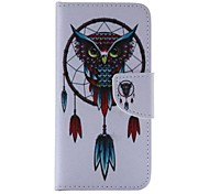 Owl Pattern Cell Phone Leather For iPhone 6/6S