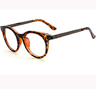 [Free Lenses]   Acetate/Plastic Oval Full-Rim Fashion Prescription Eyeglasses