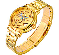 Men's Watch The Steel Chain Gold Silver Gold Dragon Chinese Automatic Mechanical Watches Hollowing Cool Watch Unique Watch