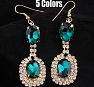 Top Sale Bohemia Vintage Wholesale Women Zircon Drop Earring